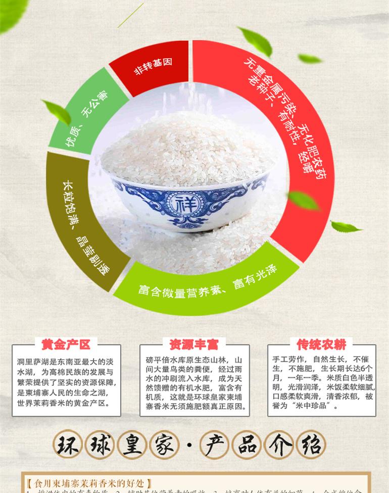 这是第7张柬埔寨【进口】'沃香情'茉莉香米一件代发的货源图片