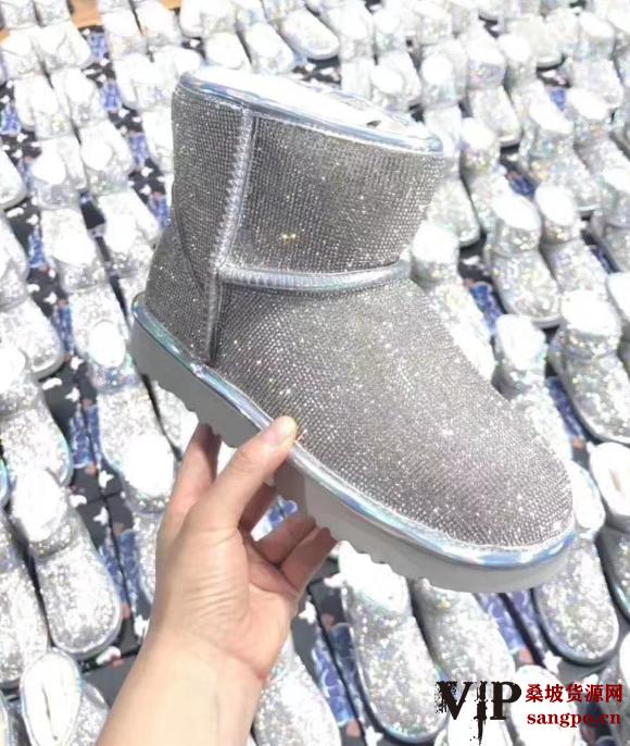 这是第3张雪地靴代理twinsugg微信代理桑坡货源鞋代理一件代发的货源图片
